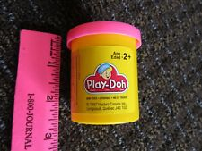 EMPTY Play Doh Canada Container Pink 1997 French Plastic Vtg Hasbro Can FreeShip