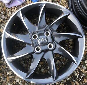 "Toyota Yaris Hybrid Podium Anthracite 16"" X 6j Alloy Wheel PZ406-B067D"