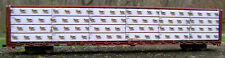 "HO SCALE:""Sun Mountain Lumber Co"" load for Walthers,Atlas, ExactRail centerbeam"
