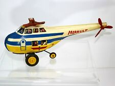 "Old French 13"" Joustra Toy HELICOPTER Painted France Vintage 1930´s - 1960´s?"