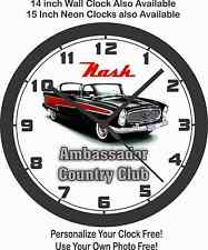 NASH AMBASSADOR COUNTRY CLUB WALL CLOCK-FORD, CHEVROLET, DODGE