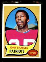 1970 TOPPS #84 JOHN CHARLES PATRIOTS NM D023359