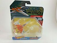 NIP DISNEY STAR WARS HOT WHEELS STARSHIPS X-WING FIGHTER RISE OF SKYWALKER STAND