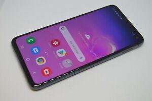 Samsung Galaxy S10E SM-G970U - 128GB - Black (Unlocked) GSM CDMA #L422