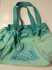 USED JUICY COUTURE HAND BAG MINT GREEN