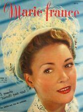 Marie France n°231 du 2 mai  1949 - La robe passe partout avec min patron -