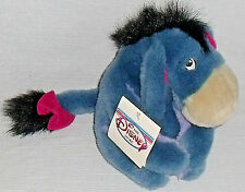 "Eeyore Plush Doll Toy Disney Store Exc 8"" NEW With Tags Winnie the Pooh"
