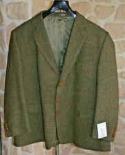 Veste ton vert neuve taille 70 EUR marque HARRIS TWEED étiquetée à 365€