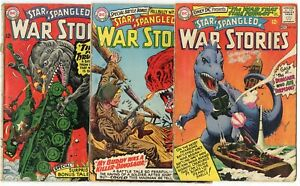 Star Spangled War Stories #123, 125, 129, 132, 133, 136  avg. G/VG 3.0  DC  1965