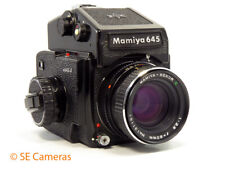 MAMIYA M645 J CAMERA & MAMIYA SEKOR C 80MM F2.8 LENS *NEAR MINT*