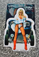 Aufkleber,Hot Rod Girl,Sexy Girl,Dave Nestler,Vintage,V8,Cruisin