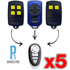5 x Dominator DOM501 DOM502 DOM505 YBS2 YBS4 Gate/Garage Door Remote (NEW)