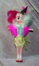 "1950S VTG CELLULOID CIRCUS CARNIVAL SMALL KEWPIE COOTCHIE DOLL 6"" EX COND"