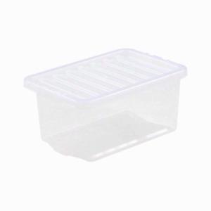 clear storage box 11ltr /24 ltr/ 35ltr/ 60ltr/ 80ltr. /110ltr £6.99 upto £15.99