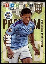 Panini FIFA 365 Adrenalyn XL (2020) – Sané Man City Limited Edition/Premium Gold