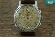 Pobeda ZIM  'Sturmanskie-Yuri Gagarin' USSR Mechanical Wrist Watch 2602 q