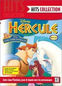 Hercule : Livre animé interactif - Hits Collection - JEUX PC CD ROM - NEUF - FR