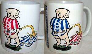 Funny Wee On Sheffield Coffee Tea Mug Football United Wednesday Shirt Rivalry