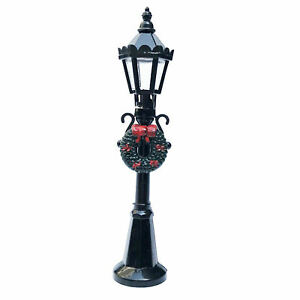 Street Light Dollhouse Miniature 1:12 Scale Pathway Lamp Decor Accessories