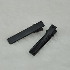 40mm Black Metal Alligator Hair Clip Pin DIY Wedding 50 pcs