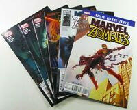 MARVEL ZOMBIES #1 REPRINT #2 + #5 SUPREME + #2 4 5 CHRISTMAS CAROL FN/VF-VF/NM