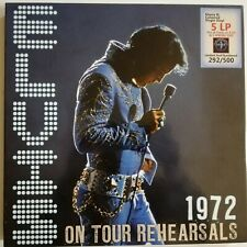 Elvis Presley 1972 ON TOUR REHEARSALS 5 LP Limited Numbered Edition 180g Vinyl