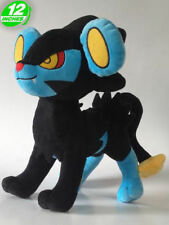 """FAST SHIPPING Luxray 12"""" 30cm Pokemon Go Game Anime Figure Soft Plush Toy Doll"""