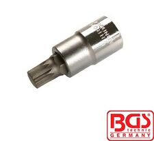 "BGS Tools 1/2"" Bit Socket Spline Sockets (XZN) 53mm Lang M12 4354"