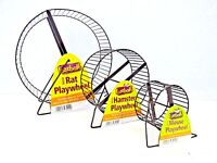 Pennine Rat Degu Mice Hamster Metal Exercise running Play Wheel Small Rodents