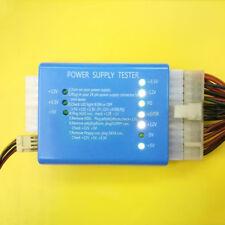 PC Computer High Quality 20/24 Pin PSU ATX SATA HD Power Supply Tester Tool Good