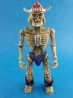 "Vintage Toy Figure MANNIX - SKELETON FIGHTER Bootleg KO Approx 6"" Nightmare"