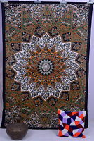 Indian Star Mandala Tapestry Wall Hanging Hippy Bedspread Home Decor Table cover