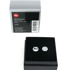 "Leica SOFT Release Button 12mm ""Leica"" chrome 14015  Messing  *Fotofachhändler*"