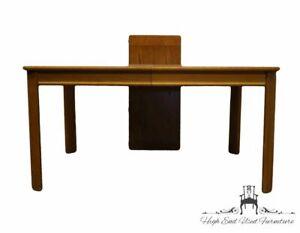 "BASSETT FURNITURE Oak Mission Shaker Style 78"" Dining Table 4261"