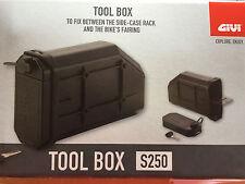 GIVI S250 Tool Box Werkzeugtasche für Pl_Cam, PLR, PL- Träger