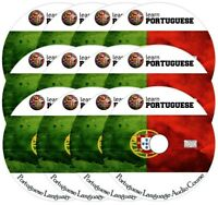 Learn  PORTUGUESE Language Training Course on 12 AUDIO CDs