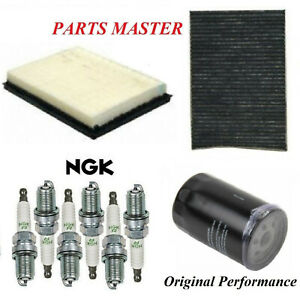 Tune Up Kit Air Cabin Oil Filters Spark Plugs For CHRYSLER 300 V6 3.5L 2005-2006