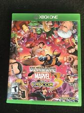 Ultimate Marvel vs Capcom 3 (Microsoft Xbox One, 2017) W/Manuel