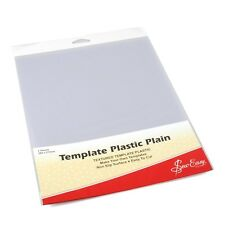 Sew Easy Plain Template Plastic PK of 2 Sheets 280 X 215mm
