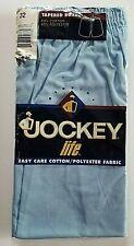 Vintage 1996 Jockey Life Tapered Boxer Shorts Mens Sz 32 Blue Easy Care Cotton
