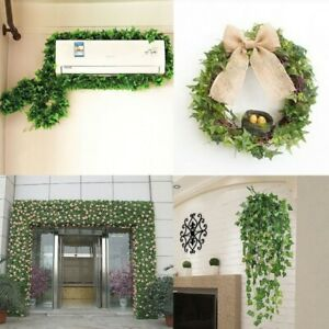 Artificial Hanging Plant Ivy Leaves Vine Garland Fern Succulent Decor #S04