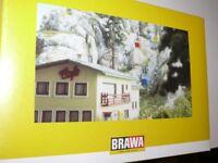 HS Brawa 6290 Kanzelwandbahn Gebäudesatz für Berg- und Talstation Fabrikneu