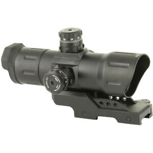 "UTG 6"" Red/Green CQB T-dot Sight with Offset QD Mount - Black"