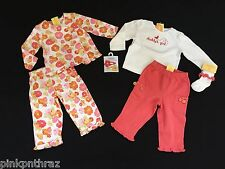 Gymboree BABY BUTTERFLY Daddy's Girl Top & Pant Outfit Set Girls 12 18 Lot of 6