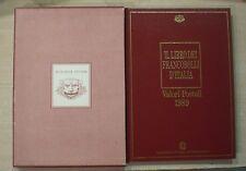 IL LIBRO DEI FRANCOBOLLI D'ITALIA 1989 - Valori postali - Raccoglitore vuoto