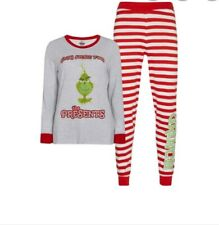 New 2019 Dr.suess The Grinch Pyjama Set For Ladies Perfect For Christmas