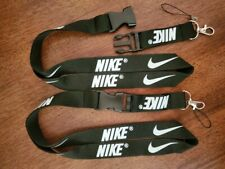 Nike Lanyard Black Brand New Never Used Detachable Keychain