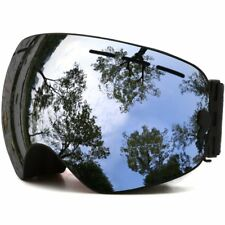 JULI Ski Goggles Winter Snow Sports Snowboard Goggles with Anti-fog UV Protectio