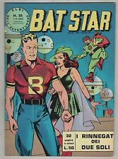 BAT STAR albi dell'avventuroso N.35 I RINNEGATI DEI DUE SOLI brick bradford 1963