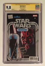 DARTH MAUL #1 • CGC SS 9.8 • SIGNED RAY PARK • ACTION FIGURE VARIANT